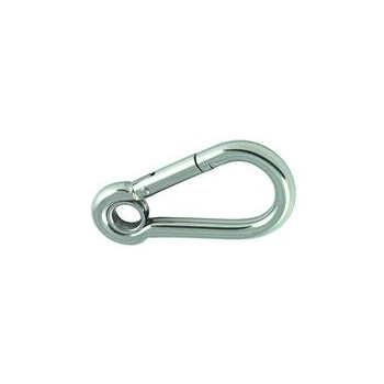 Proboat Carbine Hook Stainless Steel (With Eye)