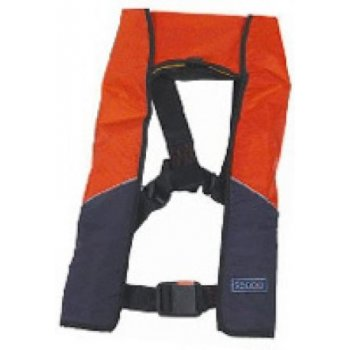 Seago Manual Inflation Life Jacket With Crotch Straps 180N