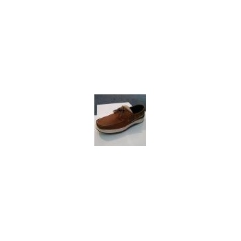 Quayside Sydney Deck Shoe Walnut
